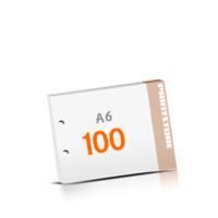 2-fach Bohrung Blöcke mit  100 Blatt Blöcke einseitig drucken