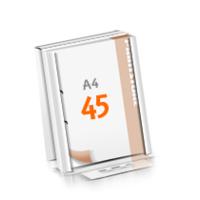 2-fach Bohrung Versandverpackung Blöcke mit  45 Blatt Blöcke beidseitig drucken