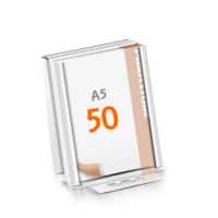 Versandverpackung Blöcke mit  50 Blatt Blöcke beidseitig drucken