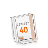 Versandverpackung Blöcke mit  40 Blatt Blöcke beidseitig drucken