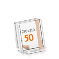 2-fach Bohrung Versandverpackung Blöcke mit  50 Blatt Blöcke beidseitig drucken