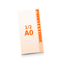 4 färbige Plakate  ½ A0 (420x1188mm) einseitige Plakate