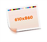Druckformen drucken  1-6 färbige Schön- & Widerdrucke nutzenmontierter Standbogen Bogenformat 610x860mm beidseitig bedruckte Plano-Druckbogen 2 Garnituren Druckplatten
