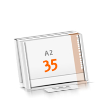 Kalenderleisten in Versandverpackung Schreibunterlagen mit  35 Blatt