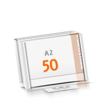 Kalenderleisten in Versandverpackung Schreibunterlagen mit  50 Blatt
