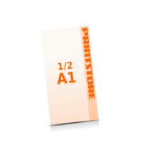 1-6 färbige Plakate  ½ A1 (297x840mm) einseitige Plakate