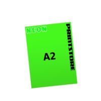 1 färbige Neonplakate  A2 (420x594mm) einseitige Neonplakate