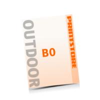 4 färbige Outdoor-Plakate  B0 (1000x1400mm) einseitige Outdoor-Plakate