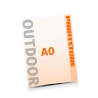 1-5 färbige Outdoor-Plakate  A0 (840x1188mm) einseitige Outdoor-Plakate
