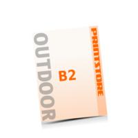 4 färbige Outdoor-Plakate  B2 (500x700mm) einseitige Outdoor-Plakate