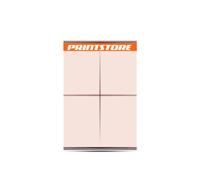 1-5 färbige Plakate 8/1 Großflächen-Plakat (1680x2380mm)  4 Plakate  A0 überlappend plakatiert einseitige Großflächen-Plakate