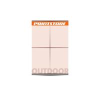 1-5 färbige Outdoor-Plakate 8/1 Großflächen-Plakat (1680x2380mm)  4 Plakate  A0 überlappend plakatiert einseitige Großflächen-Plakate