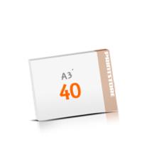 Schreibunterlagen mit  40 Blatt