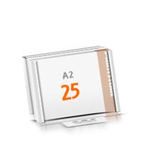 in Versandverpackung Schreibunterlagen mit  25 Blatt