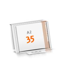 in Versandverpackung Schreibunterlagen mit  35 Blatt