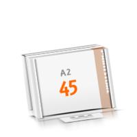 in Versandverpackung Schreibunterlagen mit  45 Blatt