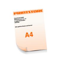 A4 (210x297mm) Personalisierung, Schwarz der Euroskala Briefpapiere mit bis zu  6 Druckfarben drucken beidseitiger Druck einseitige Personalisierung