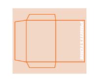 individuelles Stanzform max. offenes Rohformat:  680x480mm Mappen einseitig drucken & stanzen