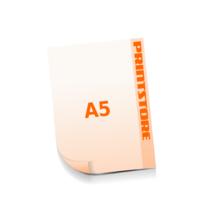 A5 (148x210mm) Stanzform Fußabdruck Gestanzte Flyer mit bis zu  6 Druckfarben drucken