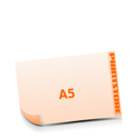 A5  quer (210x148mm) Stanzform Schwein Gestanzte Flyer mit bis zu  6 Druckfarben drucken einseitiger Stanzflyerdruck