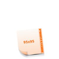 95x95mm Stanzform Rund Gestanzte Flyer mit bis zu  6 Druckfarben drucken einseitiger Stanzflyerdruck