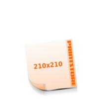 210x210mm Stanzform Rund Gestanzte Flyer mit bis zu  6 Druckfarben drucken einseitiger Stanzflyerdruck