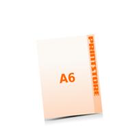 A6 (105x148mm) Digitaldruck Flyer Digitaldruck 1- oder 4-färbig drucken
