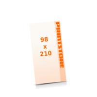 DIN Lang (98x210mm) Digitaldruck Flyer Digitaldruck 1- oder 4-färbig drucken
