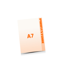 A7 (74x105mm) Digitaldruck Flyer Digitaldruck 1- oder 4-färbig drucken