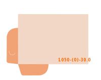 Stanzform 1050-(0)-30.0 Mappen-Füllhöhe: 0mm Mappen einseitig drucken & stanzen