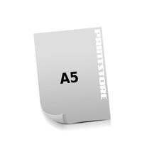 A5 (148x210mm) Stanzkontur Birne  1-6 färbiger Stanzflyerdruck Euroskala, HKS-Sonderfarben oder Pantone-Sonderfarben