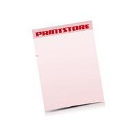 Briefpapiere drucken Einseitige Briefpapiere
