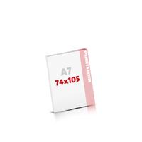 Notizblöcke drucken Notizblöcke  A7 (74x105mm)