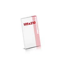 Notizblöcke drucken Notizblöcke  DIN Lang (105x210mm)