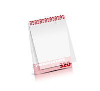 Digitaldruck Kataloge drucken  4 Seiten bis  268 Seiten Digitaldruck Kataloge mit Drahtkammbindung PVC-Frontblatt oder PVC-Endblatt (1 Blatt PVC) Drahtkamm oben Hochformat
