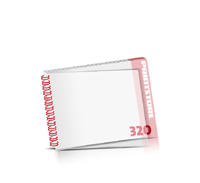 Digitaldruck Kataloge drucken  4 Seiten bis  268 Seiten Digitaldruck Kataloge mit Drahtkammbindung PVC-Frontblatt oder PVC-Endblatt (1 Blatt PVC) Drahtkamm links Querformat
