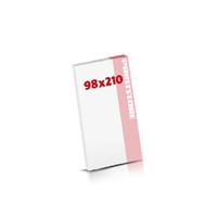Digitaldruck Notizblöcke drucken  DIN Lang (98x210mm)
