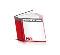 Bücher drucken Papier Buchüberzug gerader Buchrücken PUR-Klebebindung Buchdruck im Quadratformat