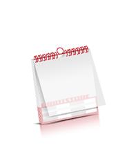 Kalender drucken Produktion im Sammeloffsetdruck Kalenderblätter einseitiger Druck PVC-Frontblatt