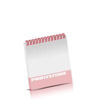 Wochen-Kalender drucken Produktion im Digitaldruck Kalenderblätter beidseitiger Druck