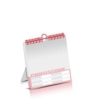Kombi-Kalender drucken Produktion im Digitaldruck Kalenderblätter einseitiger Druck