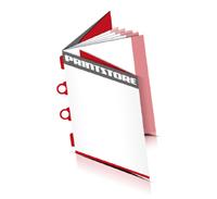 Broschüren drucken  8 Seiten Umschlag Kombinationsheftung  2 Omega-Klammern &  2 Klammern