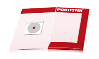 Mappen drucken stanzen & falten CD-ROM Papier-Taschen Beidseitige Mappen geschlossen A4 Überformat