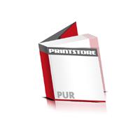 Softcover Bücher drucken  6 Seiten Umschlag PUR-Klebebindung Quadratformat