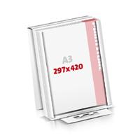 Notizblöcke drucken Flachverpackung Notizblöcke  A3 (297x420mm)