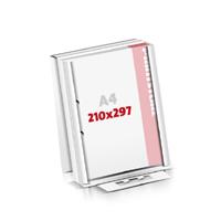 Notizblöcke drucken Flachverpackung 2-fach Bohrung Notizblöcke  A4 (210x297mm)