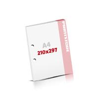 Notizblöcke drucken 2-fach Bohrung Notizblöcke  A4 (210x297mm)