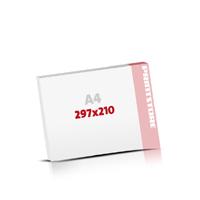 Notizblöcke drucken Notizblöcke  A4  quer (297x210mm)