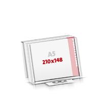 Notizblöcke drucken Flachverpackung Notizblöcke  A5  quer (210x148mm)