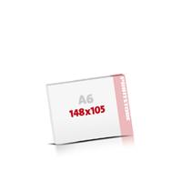 Notizblöcke drucken Notizblöcke  A6  quer (148x105mm)